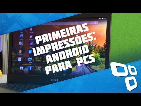 Android x86 para PCs [Primeiras impressões] - Baixaki