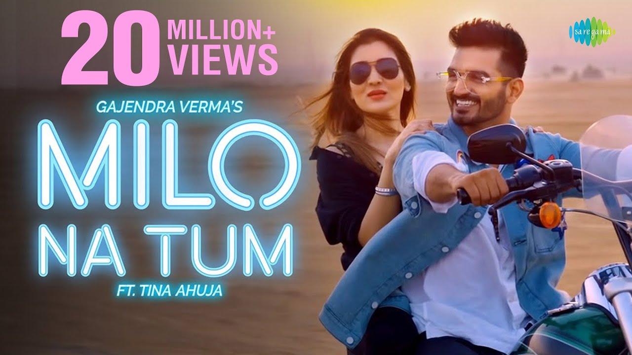 Milo Na Tum Toh Hum Ghabraye Gajendra Verma Ft Tina Ahuja Official Video Lata Mangeshkar Youtube