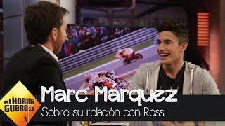 Marc Márquez aclara cómo es su relación con Valentino Rossi - El Hormiguero 3.0