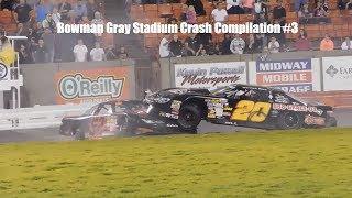 Bowman Gray Stadium Crash Compilation  #3