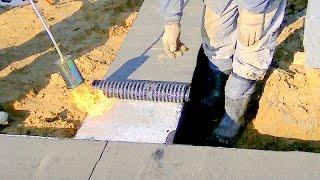 Budowa domu krok po kroku. Dzień 5 - Izolacja ławy fundamentowej. Kurs DVD pod filmem