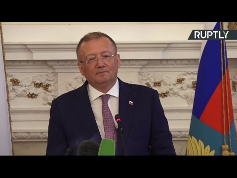 Пресс-конференция посла РФ в Великобритании Александра Яковенко