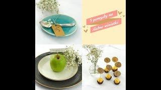3 sposoby na winietki na stół weselny #diy