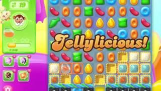 Candy Crush Jelly Saga Level 185 Hard Level No Booster