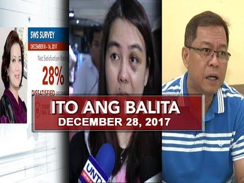 UNTV:  Ito Ang Balita (December 28, 2017