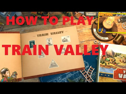 How To Play TRAIN VALLEY PC Games |