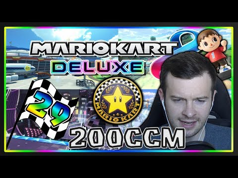 MARIO KART 8 DELUXE Part 29: Stern-Cup 200ccm Deluxe mit Facecam