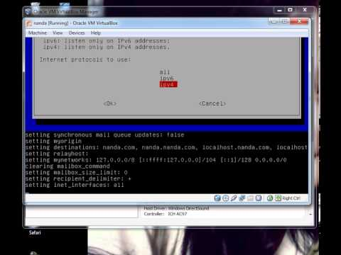 Konfigurasi SquirrelMail pada Debian