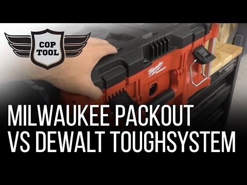 Milwaukee PACKOUT vs Dewalt ToughSystem - Tool Storage Price vs Durability