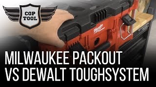 Milwaukee PACKOUT vs Dewalt ToughSystem - Tool Storage Price vs Durability