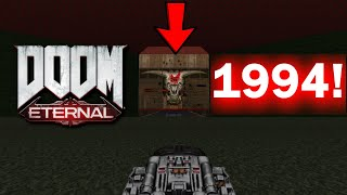 DOOM Eternal Ending, but its REMADE in Doom II!