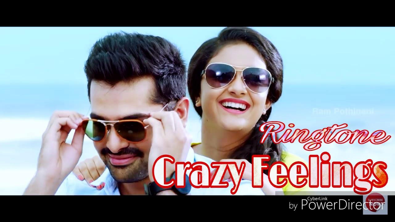 crazy feelings - new telugu song ringtone - film - ( nenu saileja