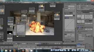 Composite an explosion - Blender Tutorial