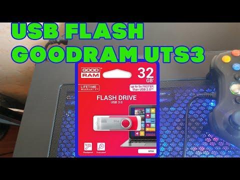 USB Flash GoodRam UTS3 32 ГБ. ЛУЧШАЯ НЕ ДОРОГАЯ ФЛЕШКА. ОБЗОР+ТЕСТ