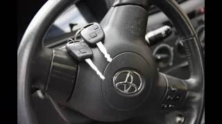 Жөндеу кілтке үшін Toyota Corolla