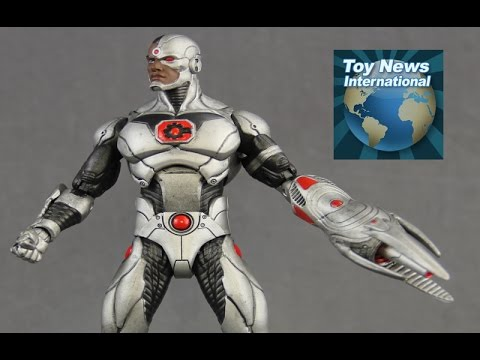 "DC Comics Icons 6"" Deluxe Cyborg Figure Review"