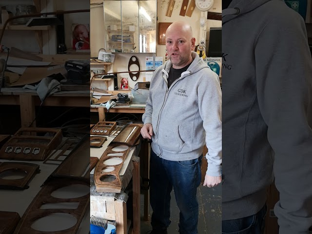 Rolls Royce/ seraph wood repair