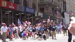 Puerto Rican Day Parade in New York City  -   Anasco, Jet Blue  -  Clip 16   -   June 09, 2013