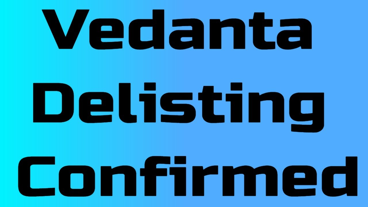 Vedanta Delisting Confirmed | Ab Kya Karen? | Intraday Trading Solutions