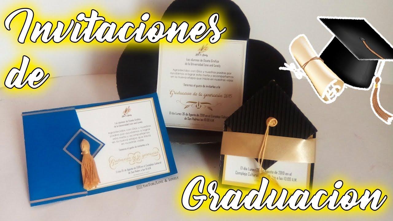 Diy Invitaciones De Graduación