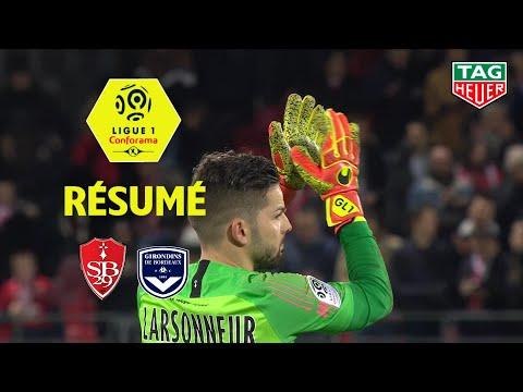 Stade Brestois 29 - Girondins de Bordeaux ( 1-1 ) - Résumé - (BREST - GdB) / 2019-20