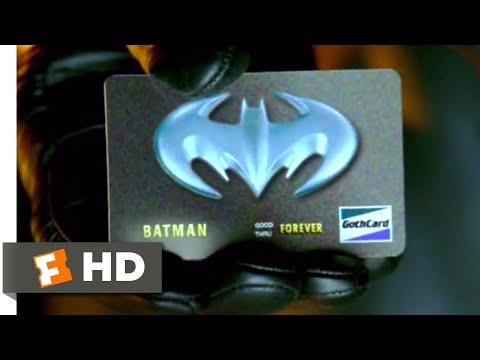 Batman & Robin (1997) - Bat Credit Card Scene (4/10) | Movieclips