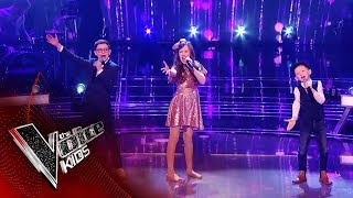 Caillin Joe, Gracie-Jayne and Colin Perform 'Let's Face The Music' | The Battles | The Voice Kids UK