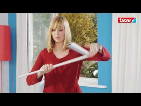 Tesa insect stop fliegengitter klett comfort f r fenster - Fliegengitter dachfenster selber bauen ...