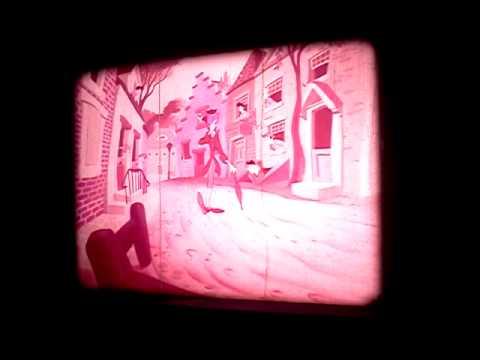 16mm Film The Legend of Sleepy Hollow clip 2