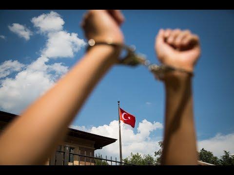 #FreeRightsDefenders   Action at Embassy of Turkey