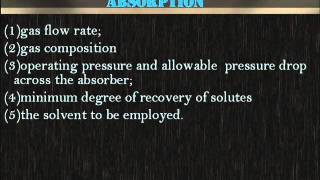 ChE 154 U Gas Absorption Equipment (Part 1 of 9)