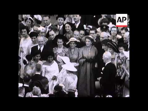 Buckingham Palace Garden Party - 1955