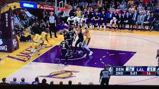 Lakers Fast Break Prowess