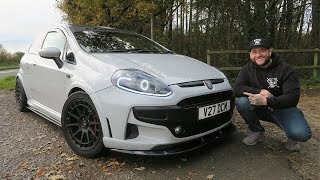 WHY YOUNG DRIVERS SHOULD BUY A PUNTO ABARTH - Review, Running Costs, Pricing, Performance Test