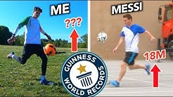 Can an Average Guy BREAK Lionel Messi's World Record?