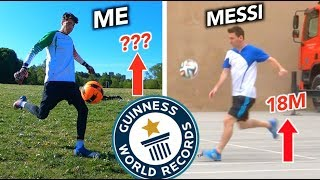 How Difficult was Lionel Messi's World Record? - Can Footballers Records be Broken?