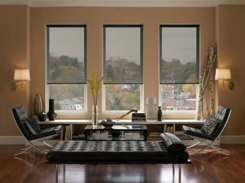 Large Window Blinds Design Ideas UK - YouTube