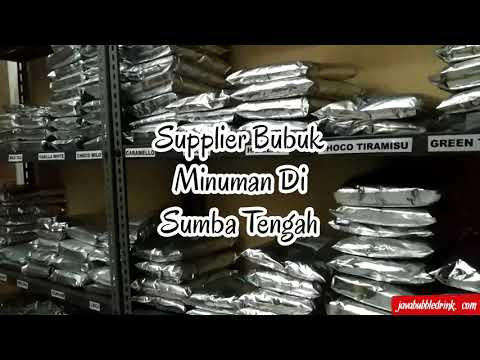 Supplier Bubuk Minuman Di Sumba Tengah   WA.089638706139 - www.javabubbledrink.com
