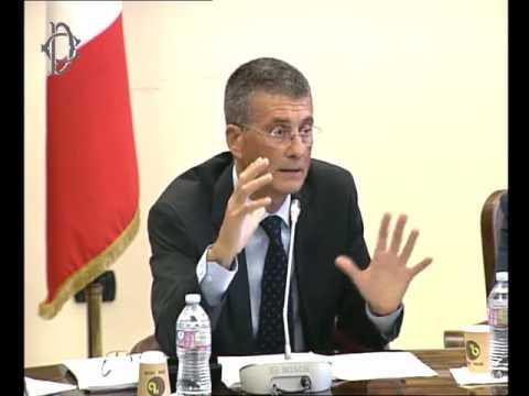 Roma - Riciclaggio settore finanziario, audizione generale Ferla (20.09.16)