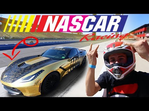 GOLD DIGGER at NASCAR TRACK! top speed!
