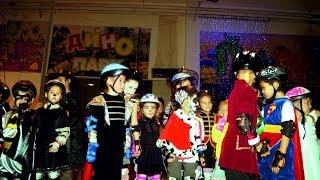 Хэллоуин на роликах, костюмированная вечеринка для детей. Школа РоллерОмск
