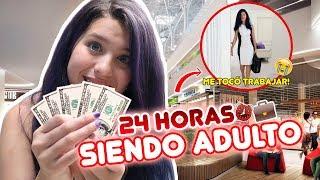 24 HRS SIENDO ADULTO!! TUVE QUE TRABAJAR!!  | leyla Star 💫
