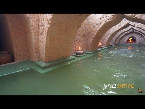 Постройка подземного бассейна!!!