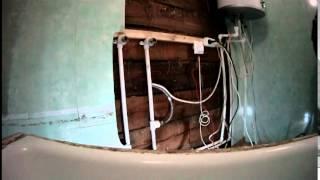 Водопровод и канализация на кухню. Пайка полипропиленовых труб.