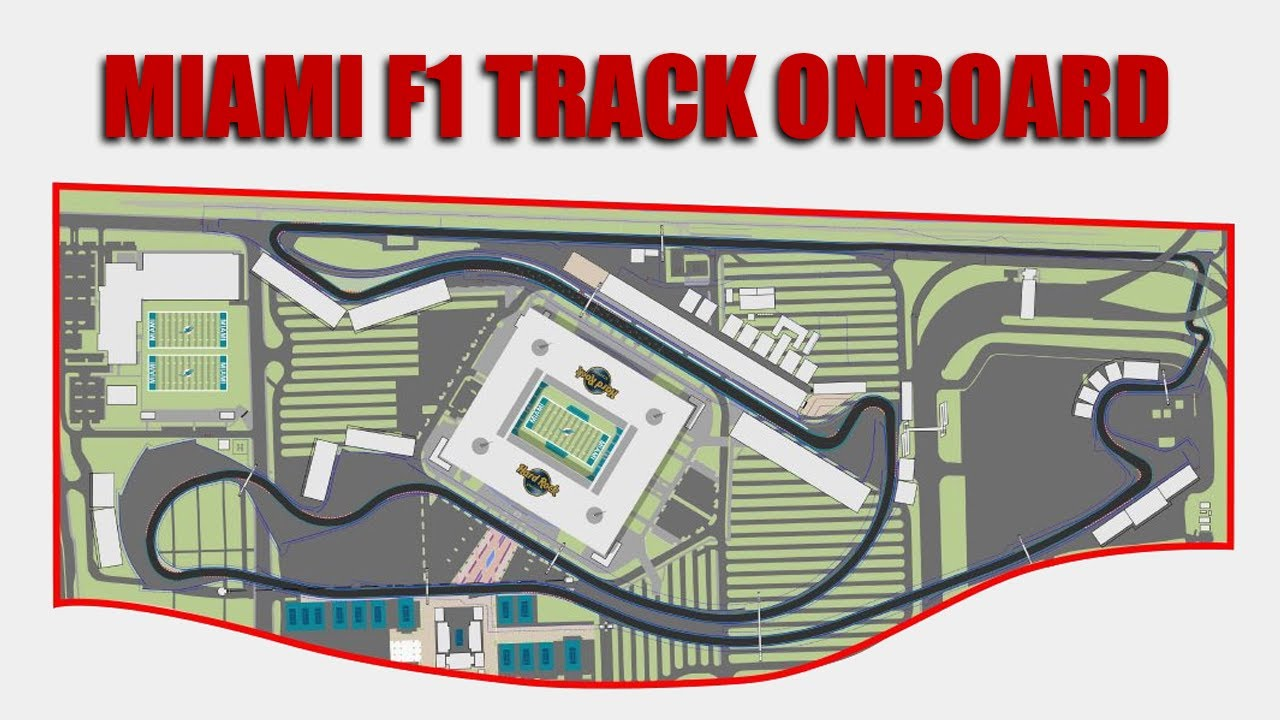 NEW Proposed Miami F1 Circuit - Assetto Corsa
