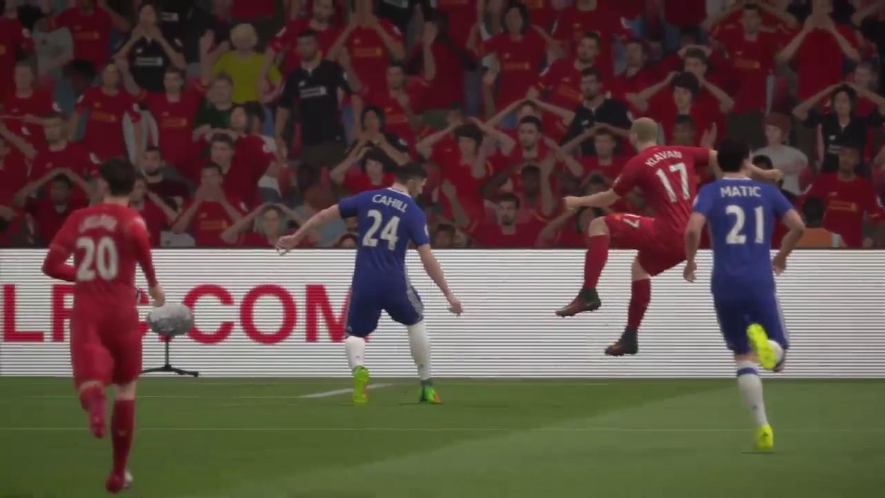 FIFA 17 English Premier League (Matchday 23): Liverpool vs. Chelsea (1/2/2017) - YouTube