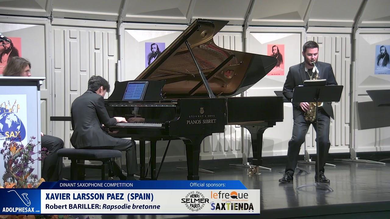 Xavier Larsson Paez (Spain) - Rapsodie bretonne by Robert Bariller (Dinant 2019)