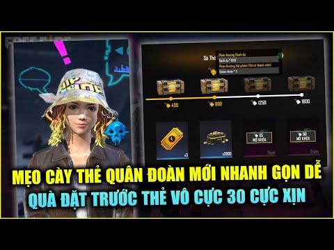 Free Fire   Mẹo Cày Điểm Quân Đoàn Đơn Giản Nhanh Gọn - Hé Lộ Quà Đặt Trước TVC 30   Rikaki Gaming