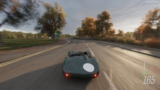 Forza Horizon 4 - 1958 Aston Martin DBR1 Gameplay [4K]