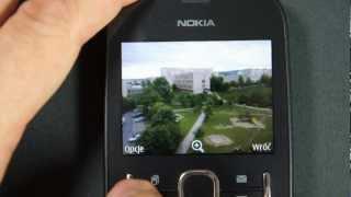 Nokia Asha 200 - camera, games, internet - part 2